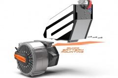 Slide-batterie-transmission
