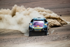 Sebastien Loeb (FRA) of PH Sport races during stage 4 of Rally Dakar 2019 from Arequipa to Tacna, Peru on January 10, 2019.