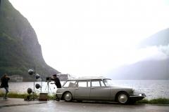 ID19 Break, shooting italiano sul Lago di Como, 1960