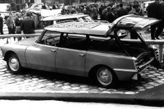 Presentazione Break al Salone di Parigi del '58 (foto 4)