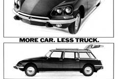 Pub statunitense della Citroen Wagon, piu auto e meno camion