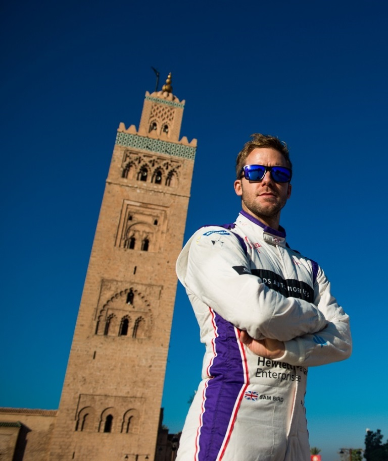 |Driver: Jose Maria Lopez| Team: DS Virgin Racing| Number: 37|| Car: Virgin DSV-02||Driver: Sam Bird| Team: DS Virgin Racing| Number: 2| Car: Virgin DSV-02|| Photographer: Nat Twiss| Event: Marrakesh ePrix| Circuit: CIRCUIT INTERNATIONAL AUTOMOBILE MOULAY EL HASSAN| Location: Marrakesh| Series: FIA Formula E| Season: 2016-2017| Country: MA|| Photographer: Nat Twiss| Event: Marrakesh ePrix| Circuit: CIRCUIT INTERNATIONAL AUTOMOBILE MOULAY EL HASSAN| Location: Marrakesh| Series: FIA Formula E| Season: 2016-2017| Country: MA|