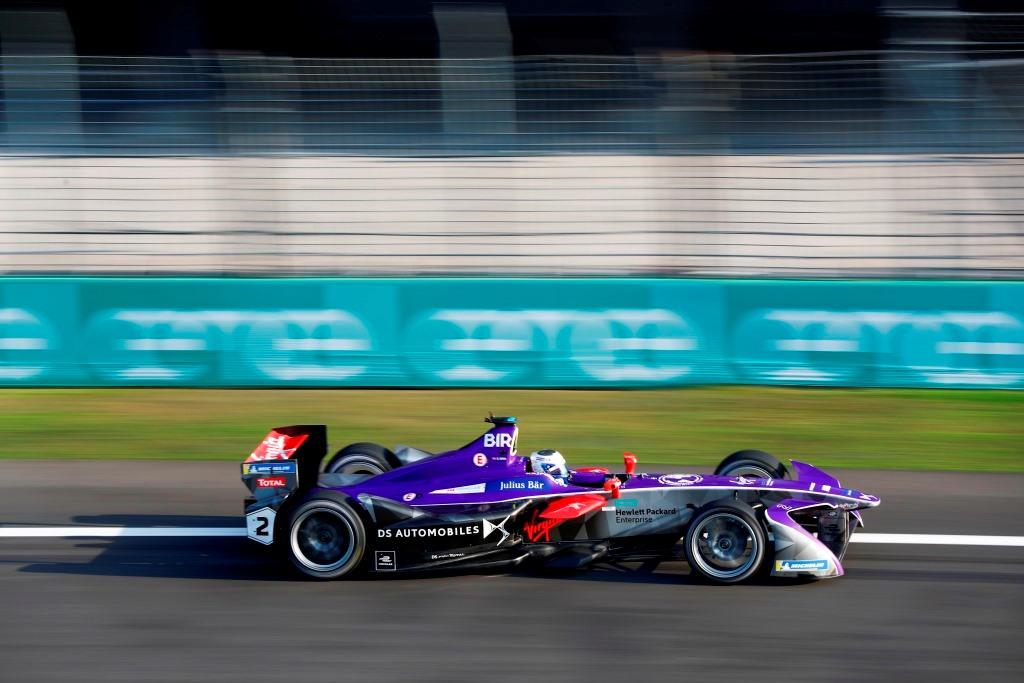 2017/2018 FIA Formula E Championship. Round 5 - Mexico City ePrix. Autodromo Hermanos Rodriguez, Mexico City, Mexico. Saturday 03 March 2018. Sam Bird (GBR), DS Virgin Racing, DS Virgin DSV-03.  Photo: Sam Bloxham/LAT/Formula E ref: Digital Image _W6I1713
