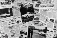 Ne parla il mondo intero, collage stampa del 1955