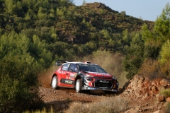 10 OSTBERG Mads (NOR), ERIKSEN Torstein (NOR), CITROEN C3 WRC, CITROEN TOTAL ABU DHABI WRT action during the 2018 WRC World Rally Car Championship, rally of Turkey from September 13 to 16, at Marmaris - Photo Francois Flamand / DPPI