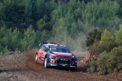 12 Al QASSIMI Khalid (ARE), PATTERSON Chris (IRL), CITROEN C3 WRC, CITROEN TOTAL ABU DHABI WRT action during the 2018 WRC World Rally Car Championship, rally of Turkey from September 13 to 16, at Marmaris - Photo Francois Flamand / DPPI