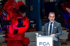 FCA, installazione primo robot per nuova linea 500BEV
