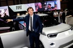 Salone dell'automobile di Ginevra 2019 - Stand FIAT
