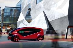Fisker Orbit Autonomous Shuttle Street - Hakim Unique Group