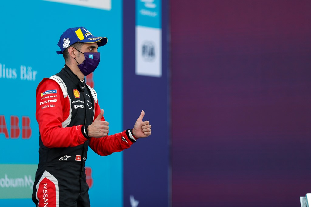 Sébastien Buemi (CHE), Nissan e.Dams, 2nd position