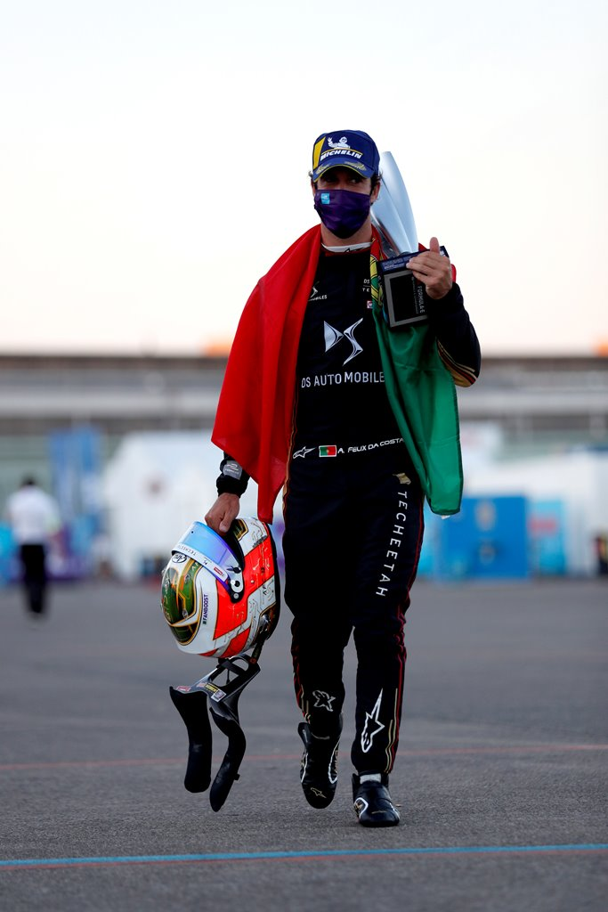 Antonio Felix da Costa (PRT), DS Techeetah celebrates his win