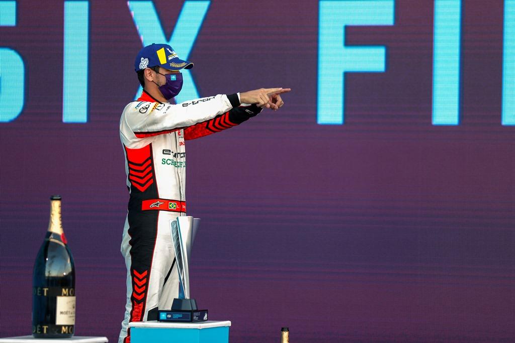 Lucas Di Grassi (BRA), Audi Sport ABT Schaeffler, 3rd position