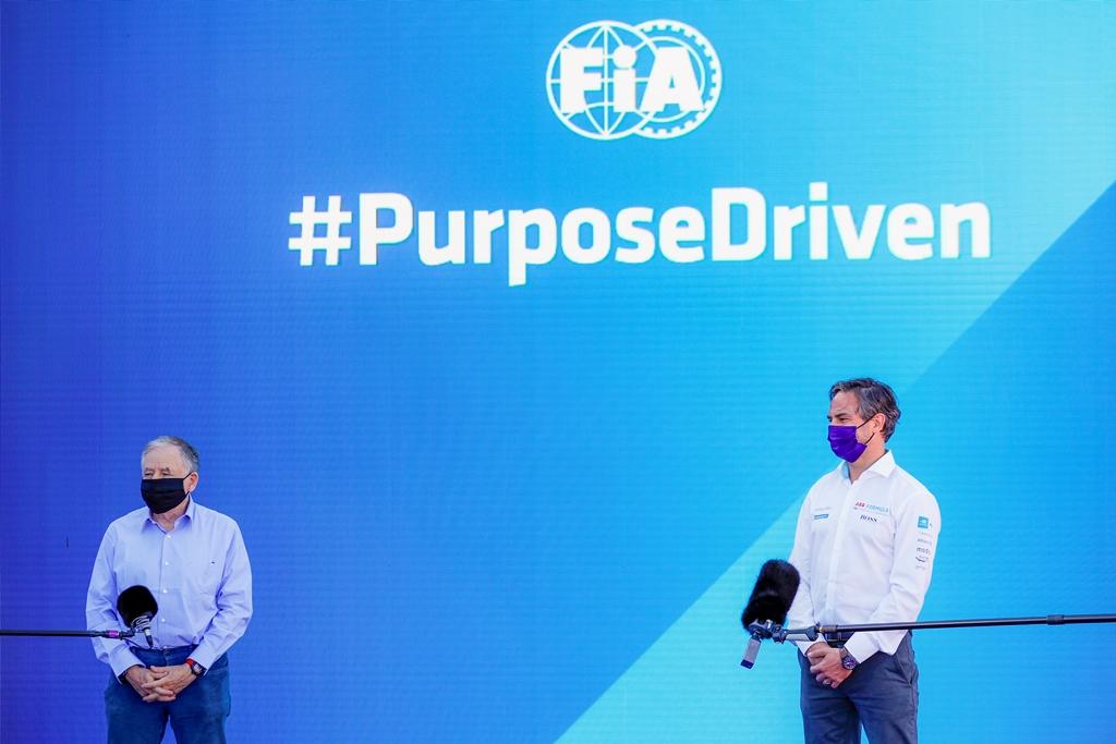 Jean Todt, FIA President and Jamie Reigle, CEO of Formula E