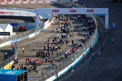 The grid line up
