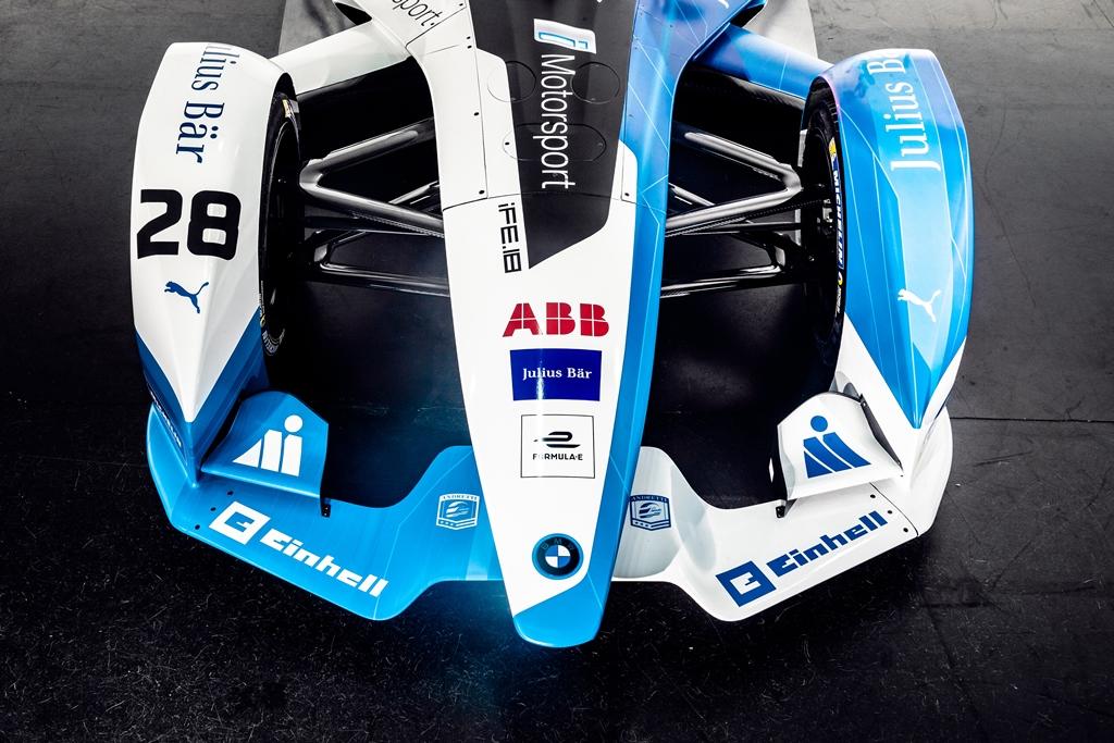 The new BMW iFE.18 for the ABB FIA Formula E Championship (09/18).