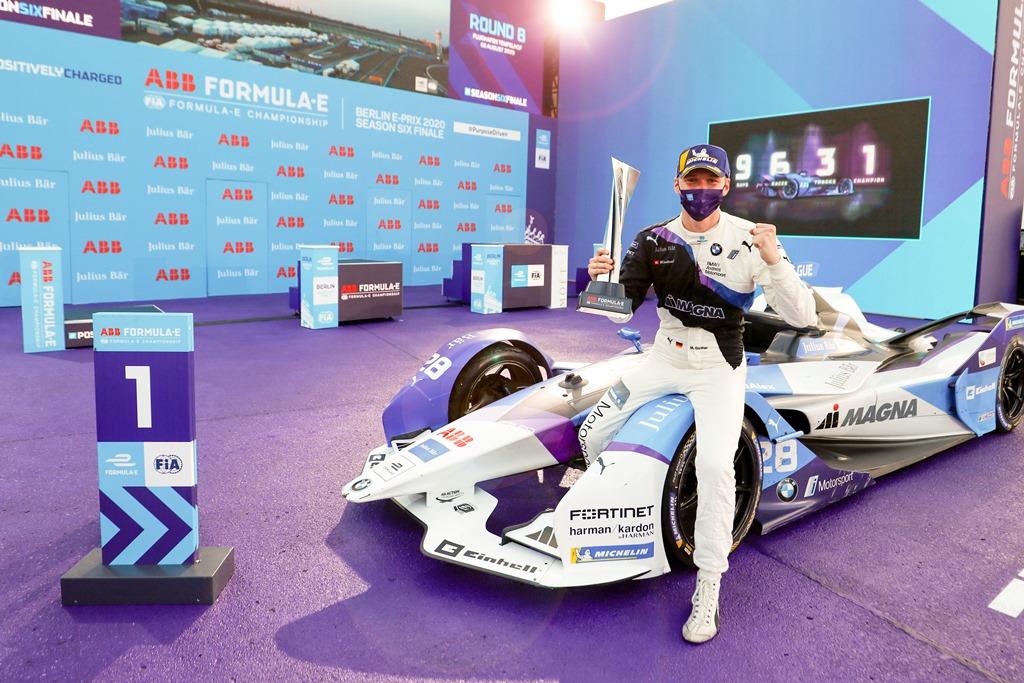 Maximilian Günther (DEU), BMW I Andretti Motorsports, 1st position celebration