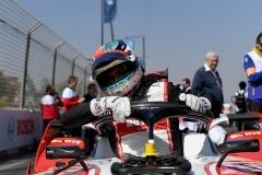 Edoardo Mortara (CHE) Venturi, EQ Silver Arrow 01 on the grid