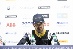 Jean-Eric Vergne (FRA), TECHEETAH, Renault Z.E. 17, in the press conference.