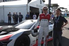 Audi e-tron Vison Gran Turismo, Alejandro Agag, Kazunori Yamauchi