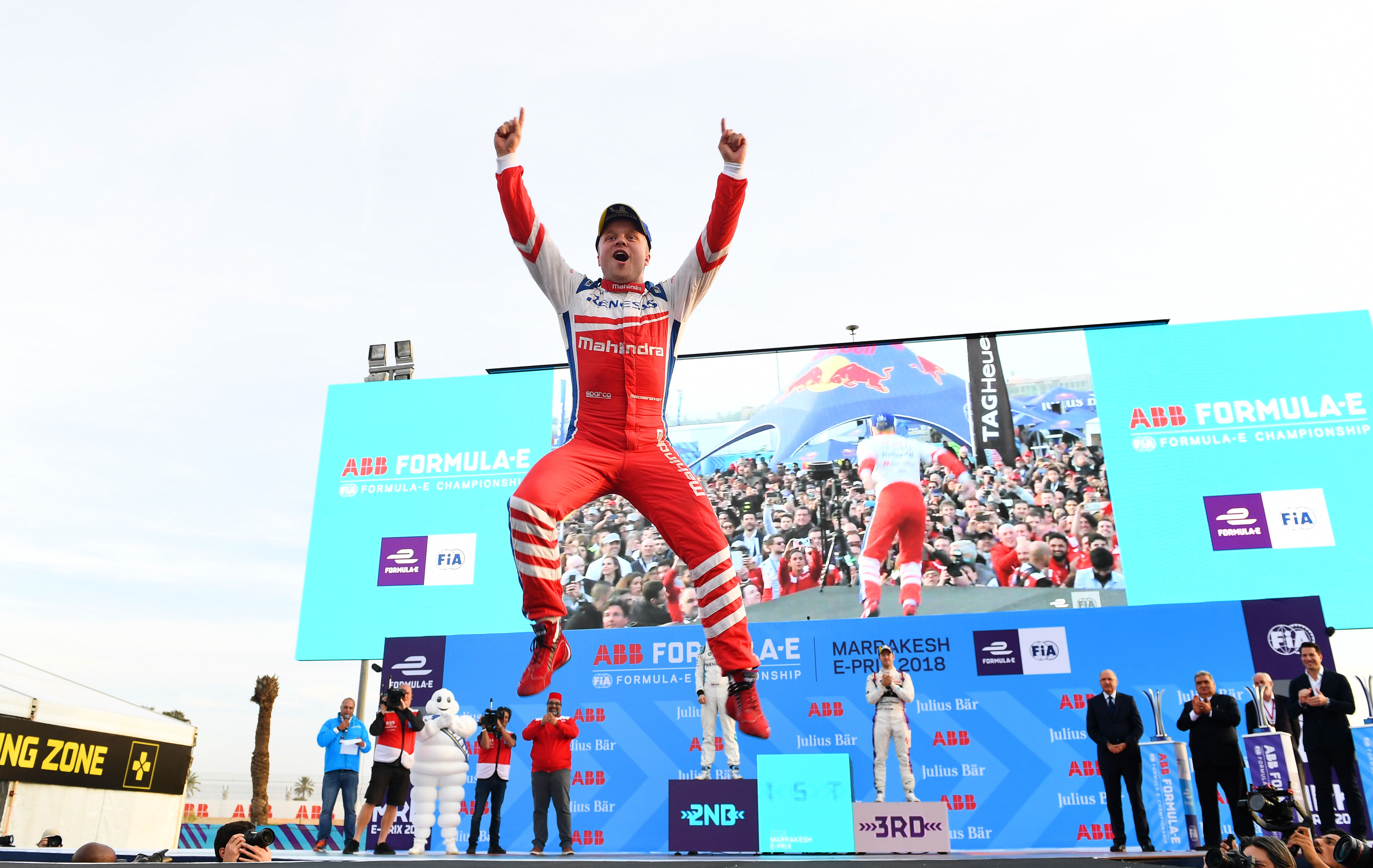 2017/2018 FIA Formula E Championship. Round 3 - Marrakesh ePrix. Circuit International Automobile Moulay El Hassan, Marrakesh, Morocco. Saturday 13 January 2018. Photo: Sam Bagnall/LAT/Formula E ref: Digital Image SB1_5192