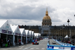 Lucas Di Grassi (BRA), Audi Sport ABT Schaeffler, Audi e-tron FE04, leaves the pits.