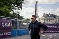 Formula E ePrix Parigi 2018 Edoardo Mortara Venturi