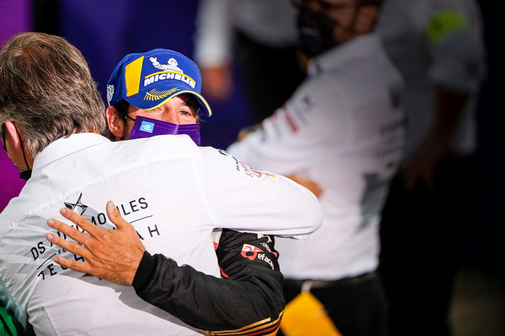 Antonio Félix da Costa (PRT), DS Techeetah, DS E-Tense FE20, wins the Formula E Championship
