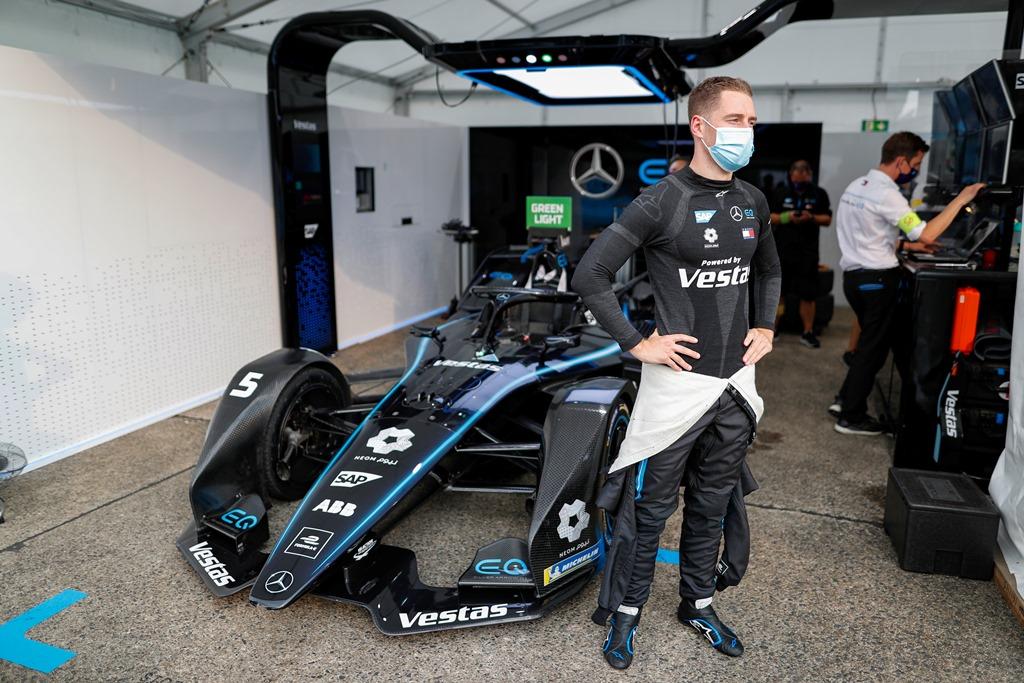 Stoffel Vandoorne (BEL), Mercedes Benz EQ