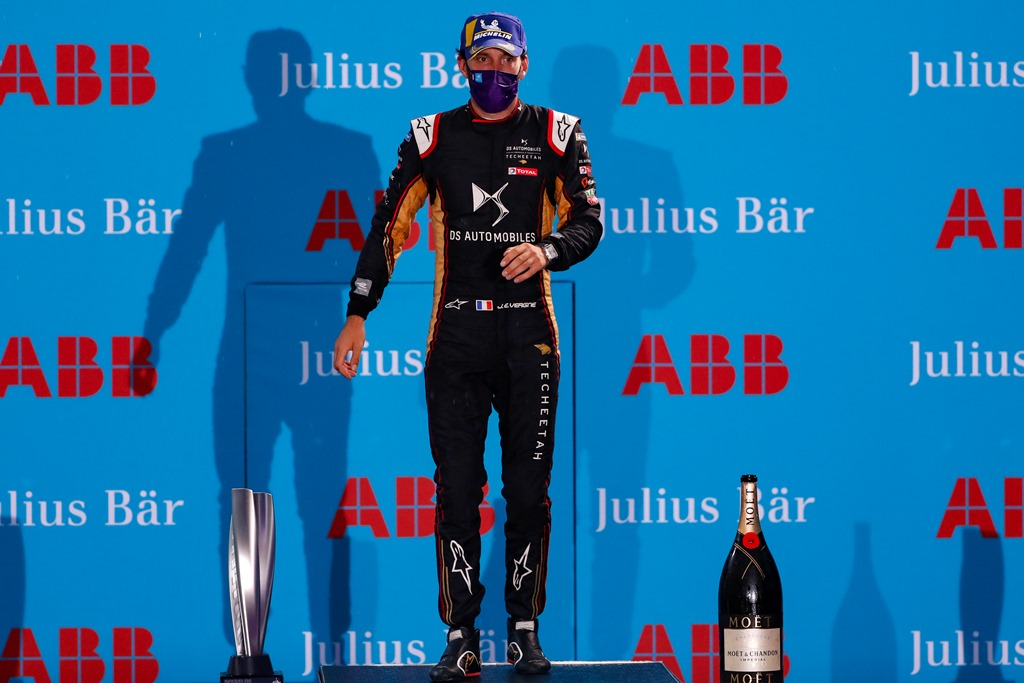 Jean-Eric Vergne (FRA), DS Techeetah, 1st position
