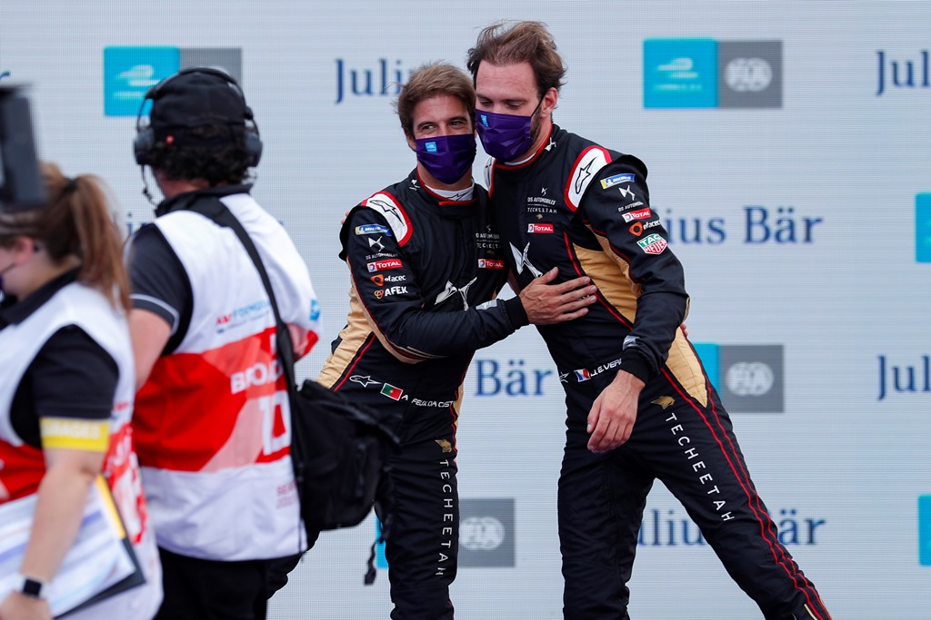 Antonio Félix da Costa (PRT), DS Techeetah and Jean-Eric Vergne (FRA), DS Techeetah