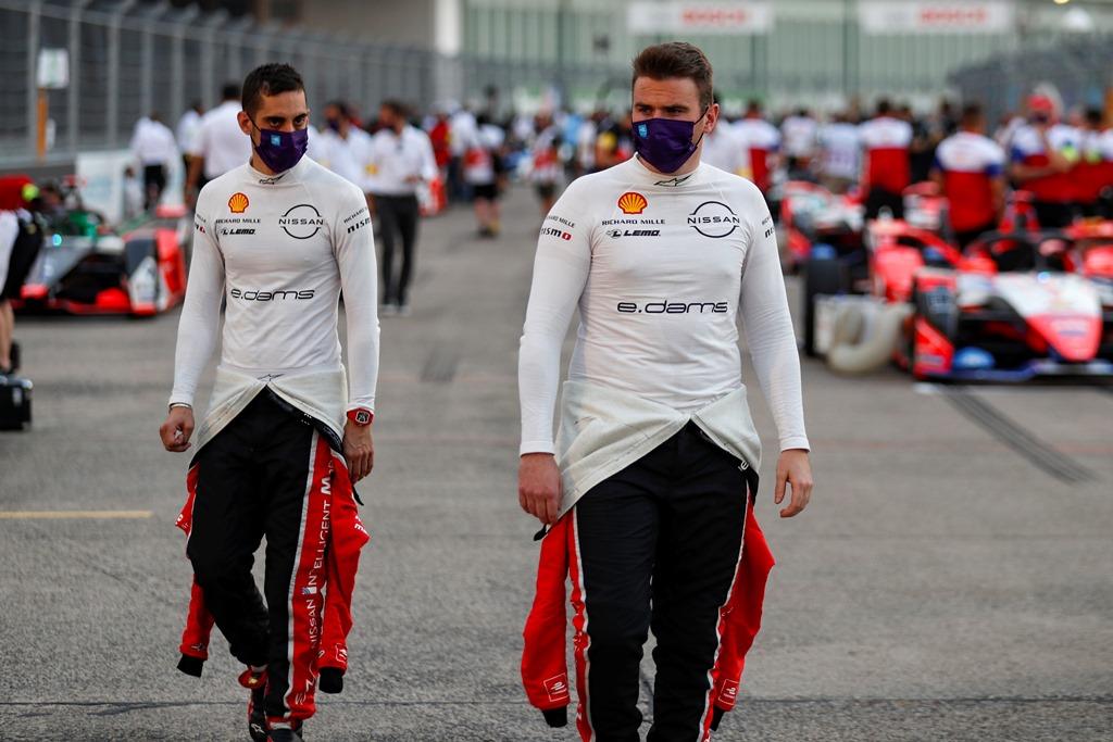 Sébastien Buemi (CHE), Nissan e.Dams and Oliver Rowland (GBR), Nissan e.Dams