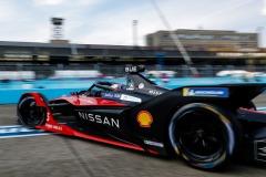Sébastien Buemi (CHE), Nissan e.Dams, Nissan IMO2 leaves the pits