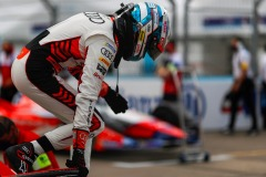 René Rast (DEU), Audi Sport ABT Schaeffler climbs out of his car on the grid