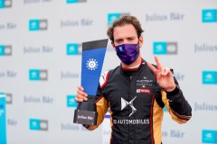 Jean-Eric Vergne (FRA), DS Techeetah with pole position award