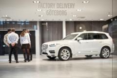 Volvo Drive Me - Familie Hain übernimmt Volvo XC90 für Fahrten im Großraum Göteborg