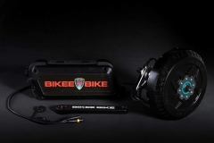 Bikee Bike BEST ebike kit 2018 black passion light