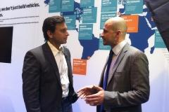 Matteo Spaggiari with Ford CEO Mark Fields