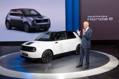 Honda e and Frankfurt International Motor Show 2019
