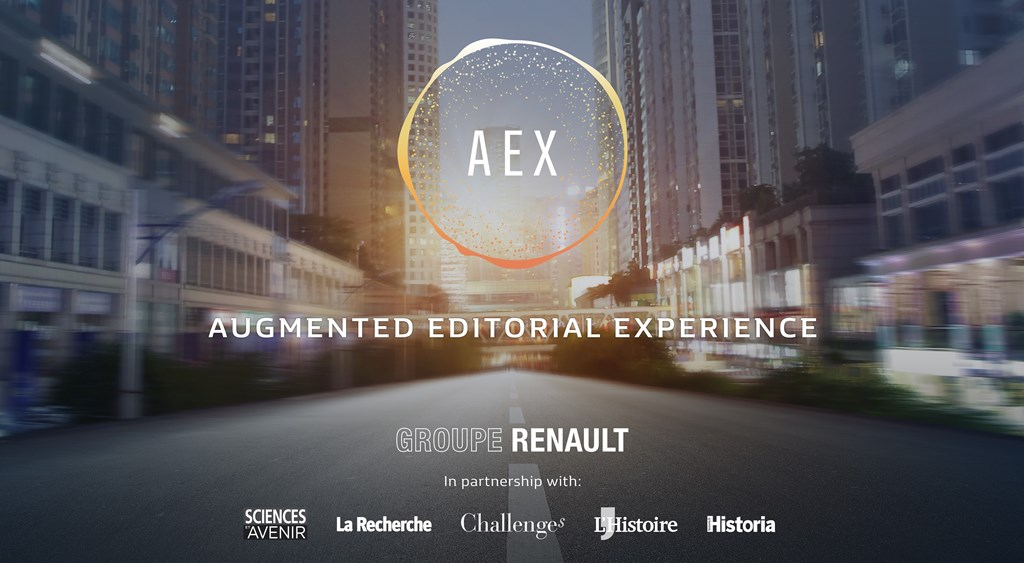 2018 - AEX : Augmented Editorial Expérience