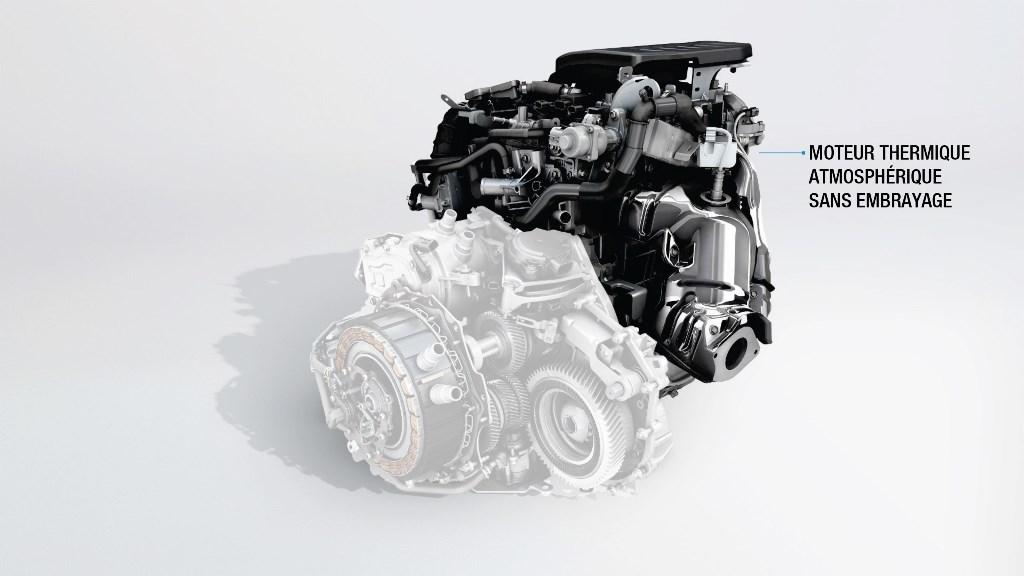 2018 - Moteur hybride DHT E-TECH