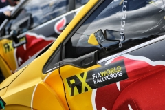 Sebastien Loeb performs at FIA World Rallycross Championship in Montalegre, Portugal on 28 April 2018 // @World / Red Bull Content Pool // AP-1VGK3NDCN2111 // Usage for editorial use only // Please go to www.redbullcontentpool.com for further information. //