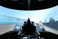 Munich (GER) 11th December 2018. BMW i Motorsport, Antinio Felx da Costa (POT) Formula E Simulator.