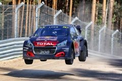 Sebastien Loeb in action at FIA World Rallycross Championship in Riga, Latvia on 15th September 2018 // @World / Red Bull Content Pool // AP-1WWMG524W2111 // Usage for editorial use only // Please go to www.redbullcontentpool.com for further information. //