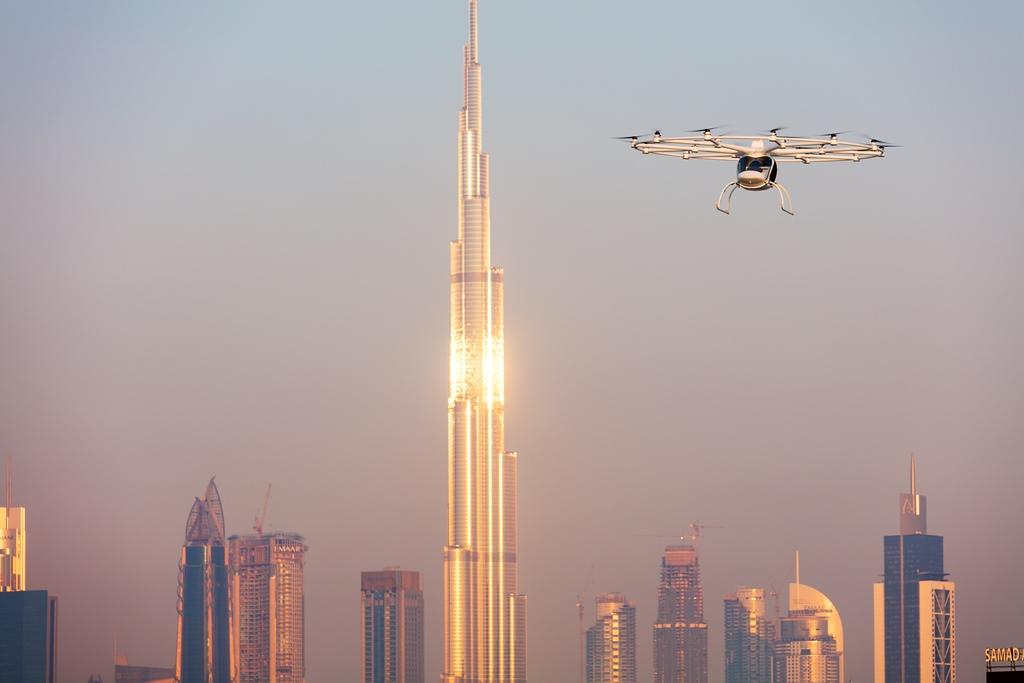 Volocopter in Dubai