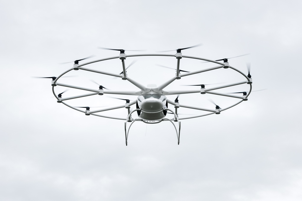 Volocopter VC200 - first manned flight