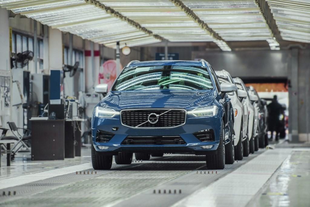 Volvo Cars Chengdu car plant
