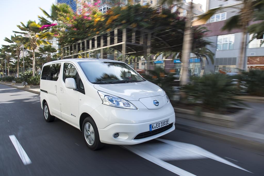 The upgraded Nissan e-NV200: The LCV market game changer