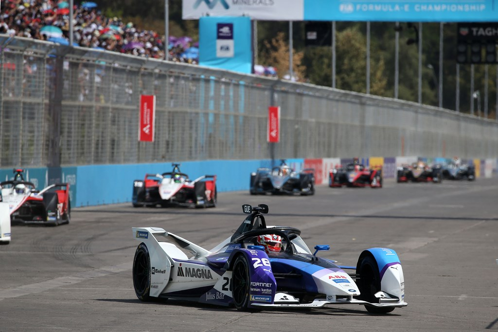 Santiago de Chile (CHL), 16th-18th January 2020. ABB FIA Formula E Championship, Season 6, BMW i Andretti Motorsport, No. 28 Maximilian Günther (GER), BMW iFE.20.