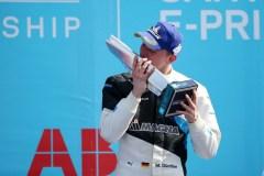 Santiago de Chile (CHL), 16th-18th January 2020. ABB FIA Formula E Championship, Season 6, BMW i Andretti Motorsport, Winner Maximilian Günther (GER), BMW iFE.20 No28.
