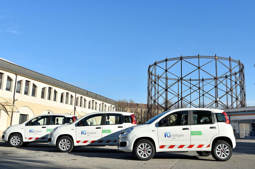 Nuova flotta Panda a metano FCA-Leasys per Italgas